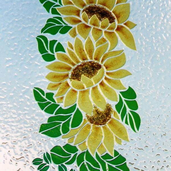 Vitrovetrateartistiche - VETRATA FLOWERS